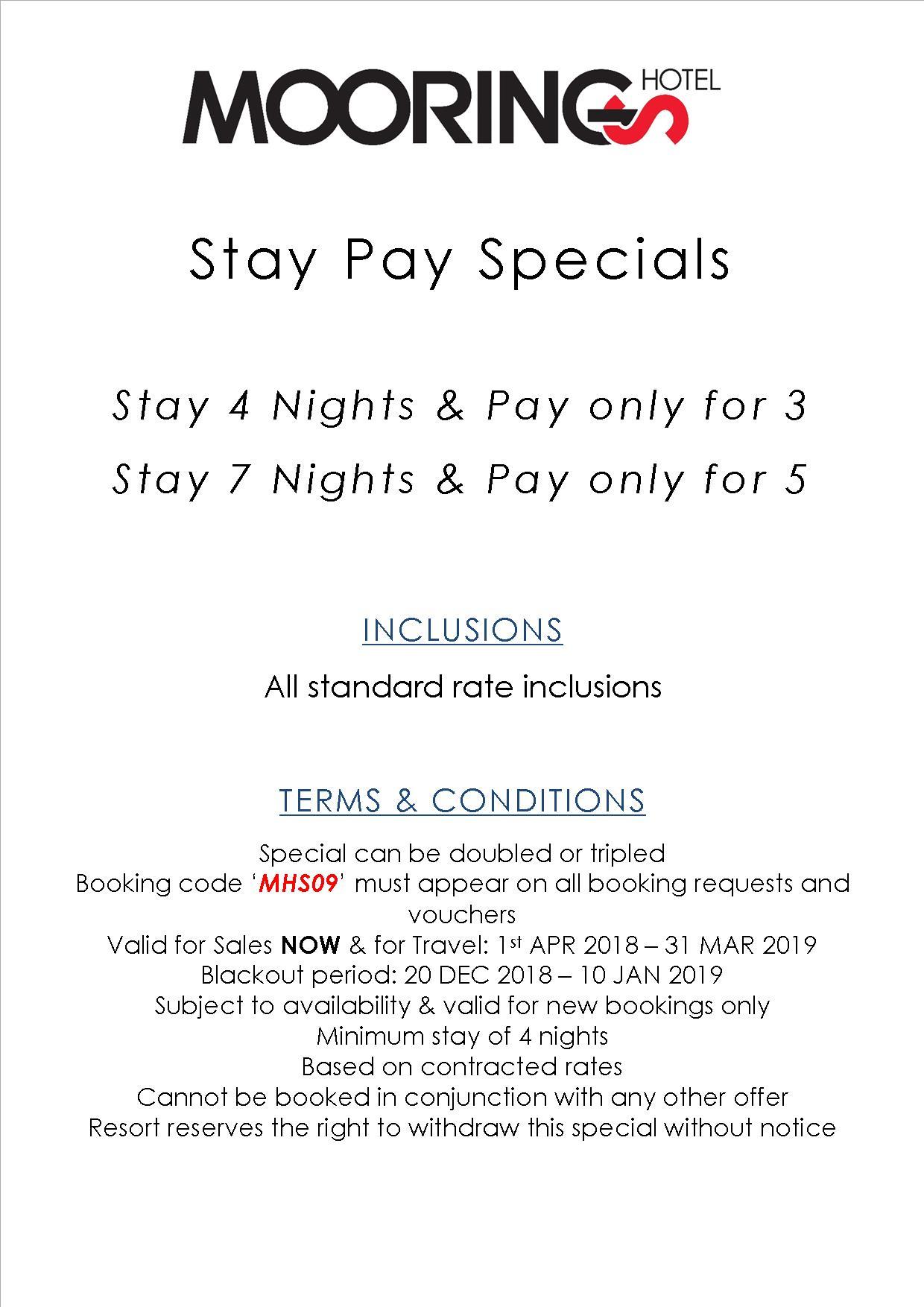 Moorings Hotel Vanuatu - Rates & Special Deals
